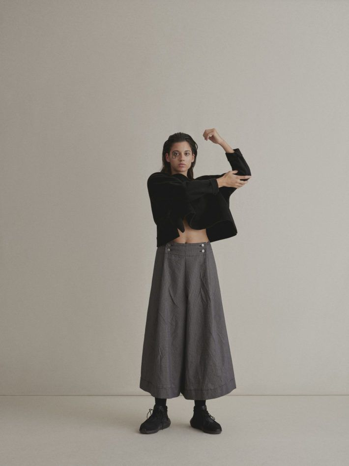 WOOL JAPANESE TOP | JAPANESE TROUSERS